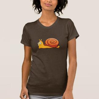 Camiseta del caracol del dibujo animado