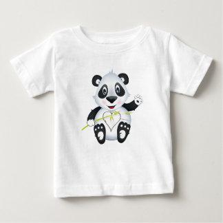 """Camiseta del carácter de la panda del """"pequeño del"""