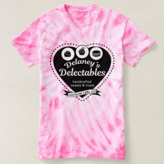 Camiseta del caramelo de algodón de Delectables de