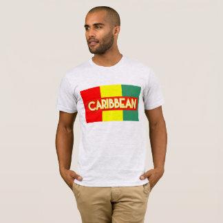 Camiseta del Caribe de los colores