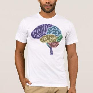Camiseta del cerebro