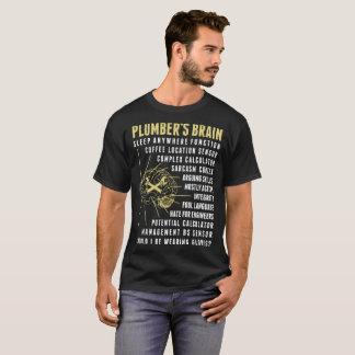 Camiseta del cerebro de los fontaneros