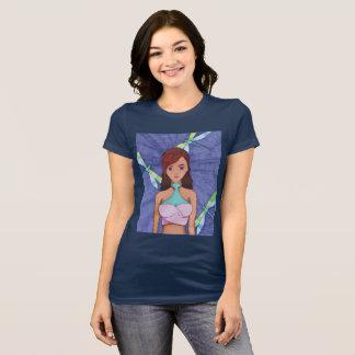 camiseta del chica de la mosca del dragón