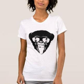 Camiseta del chimpancé del Swag