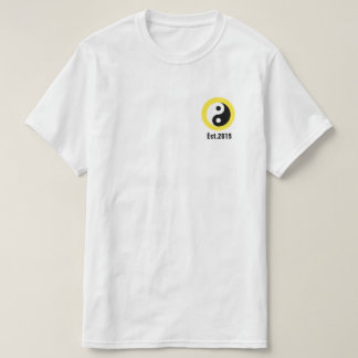 """Camiseta del """"círculo"""" del amarillo de Njoku """"Yin"""