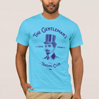 Camiseta del club del comercio del caballero -