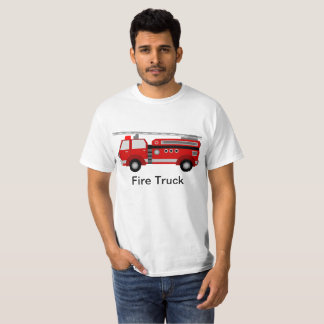 Camiseta del coche de bomberos