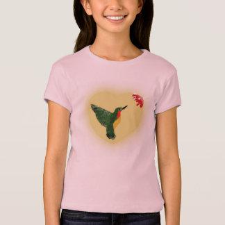 Camiseta del colibrí de la Rubí-Garganta de los