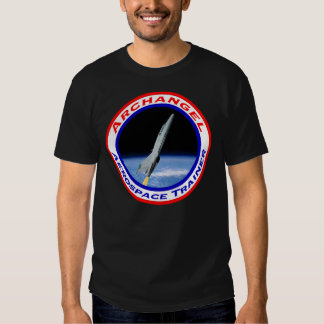Camiseta del color oscuro del arcángel AST