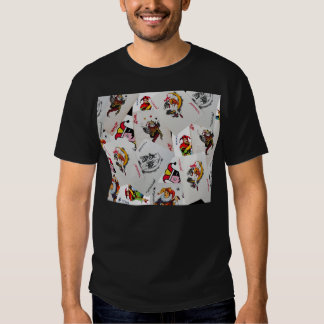 Camiseta del comodín del póker