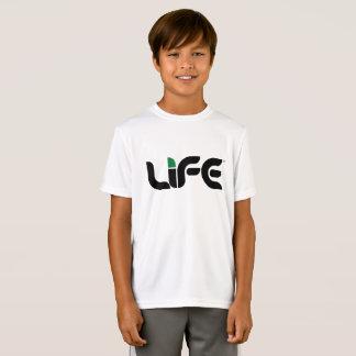 Camiseta del competidor del Deporte-Tek de la vida