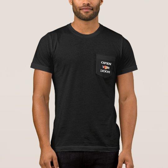 Camiseta del competidor del Deporte-Tek de los