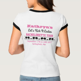 Camiseta del concierto del fiesta de Bachelorette