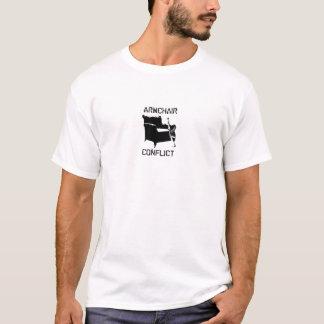 Camiseta del conflicto de la butaca