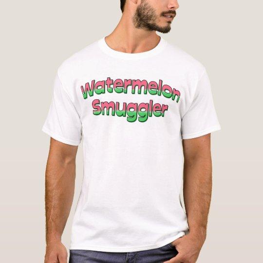 Camiseta del contrabandista de la sandía