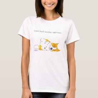 Camiseta del Corgi del café express