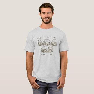 Camiseta del cráneo de Vesalius