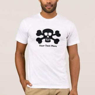 Camiseta del cráneo (personalizable)