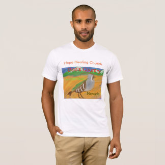 Camiseta del cristiano del pájaro de Qauil de la