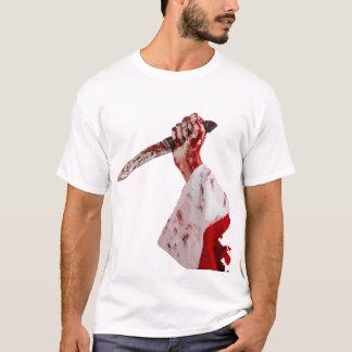 Camiseta del cuchillo de Santa
