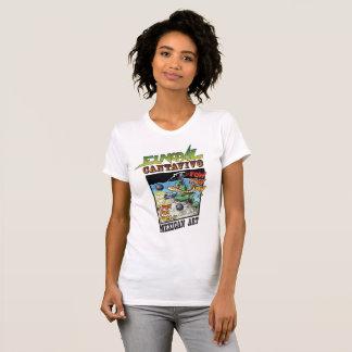 Camiseta del cuello barco de Cantavivo del Nopal