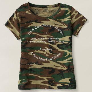 Camiseta del cuello barco de las mujeres de