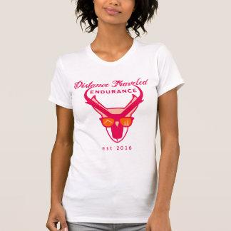 Camiseta Camiseta del cuello barco de las mujeres de la