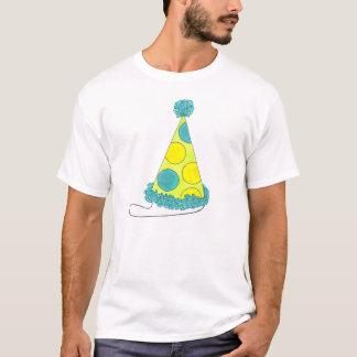 Camiseta del cumpleaños del gorra del fiesta del