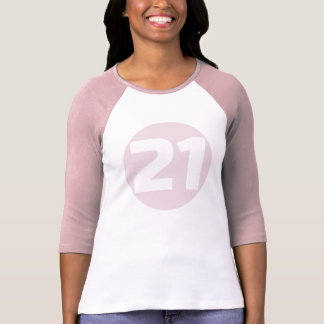 Camiseta del CUMPLEAÑOS del RECORTE #21