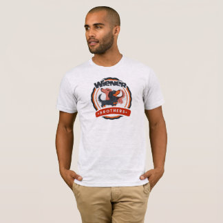Camiseta del Dachshund de los hermanos de la