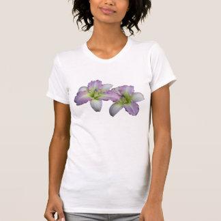 Camiseta del Daylily de las mujeres