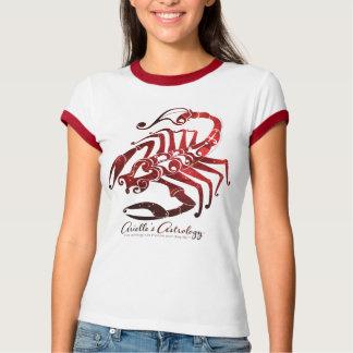 Camiseta del ~ de la ropa de la astrología del