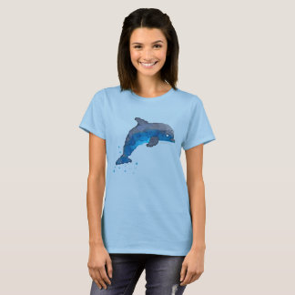 Camiseta del delfín de las mujeres