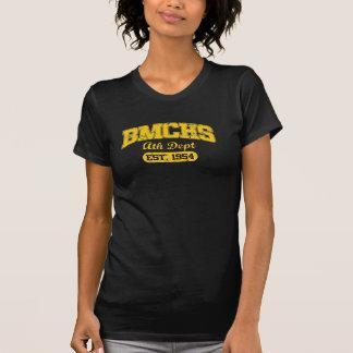 Camiseta del departamento del Grunge BMCHS Ath de