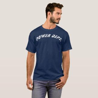 Camiseta del departamento del poder