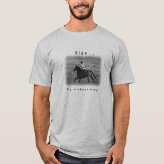 Camiseta del deporte del amante del caballo