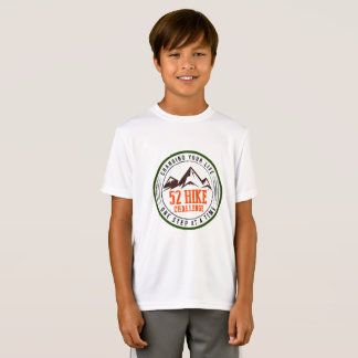 Camiseta del Deporte-Tek del desafío del alza de