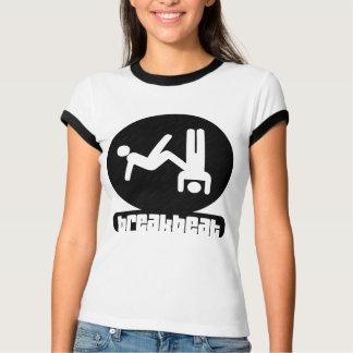 Camiseta del desgaste de las Breakbeat-Mujeres