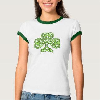 Camiseta del día de St Patrick de las mujeres