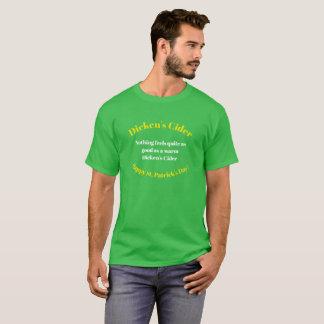 Camiseta del día de St Patrick feliz de la sidra