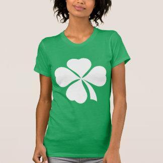 Camiseta del día del St Patricks del trébol de la