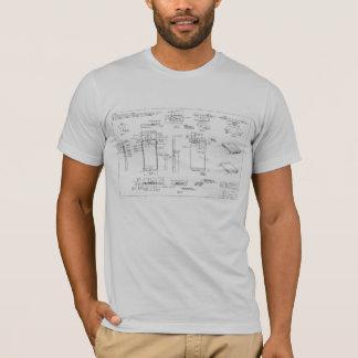 camiseta del diagrama esquemático del iPhone 5
