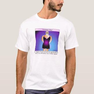 Camiseta del dibujo animado de los resbalones