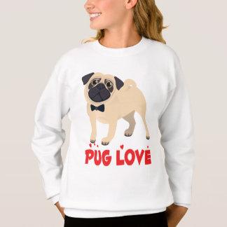 Camiseta del dibujo animado del perro de perrito