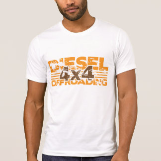 Camiseta del diesel del Grunge 4x4
