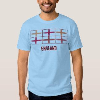 Camiseta del diseño de la bandera de la fan de