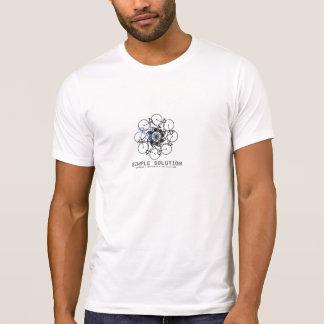 Camiseta del diseño gráfico de la bicicleta