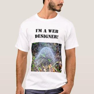 Camiseta del diseño web