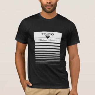 Camiseta del distrito de la moda de Tokio, moda de