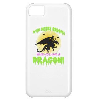 Camiseta del dragón de la bruja de Halloween Carcasa iPhone 5C